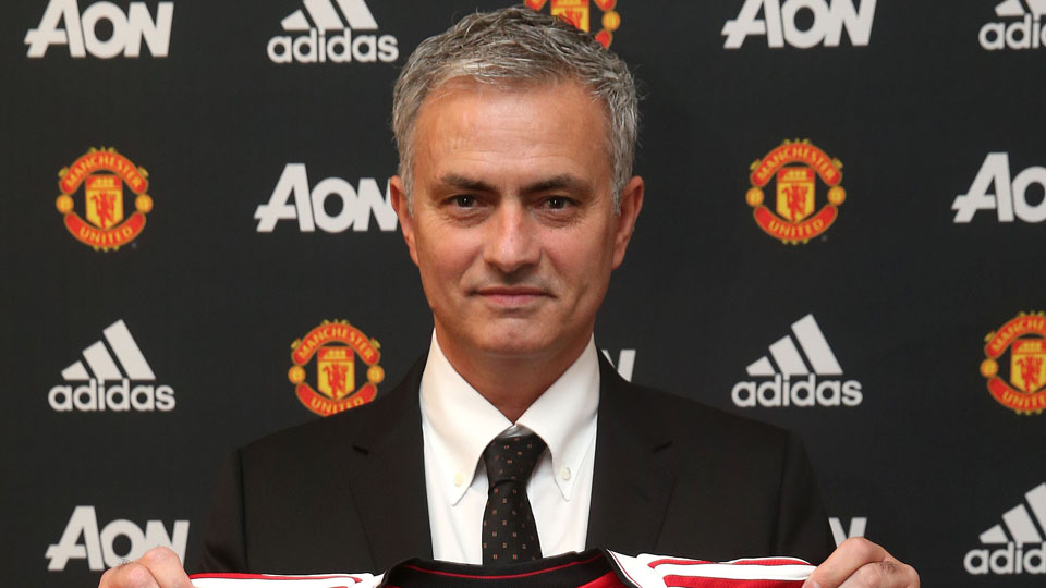 jose mourinho hired manager manchester united