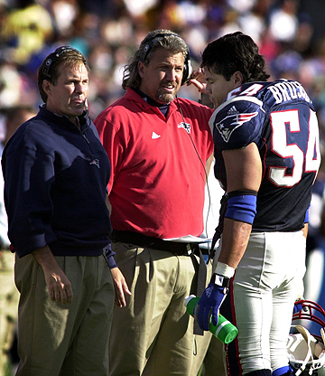 Rob worked with Belichick in 2000-03 as the Patriots linebackers coach.
