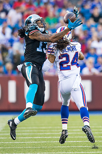 Kelvin Benjamin, who missed all of 2015 with an ACL injury, was the Panthers' leading wide receiver in 2014 with 73 catches and 1,008 yards.