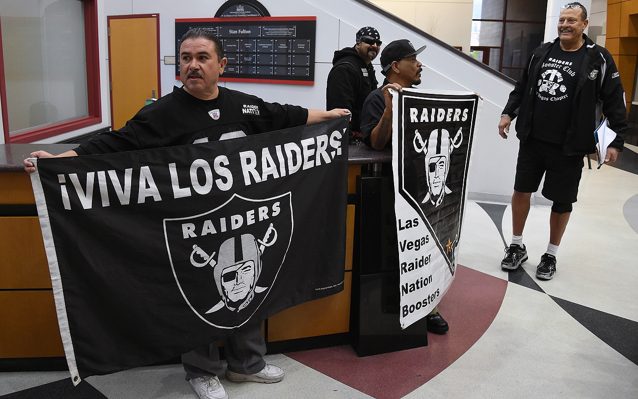 One of the obstacles for the Raiders moving to Vegas? A market research study to see if the relatively small city can support an NFL team.
