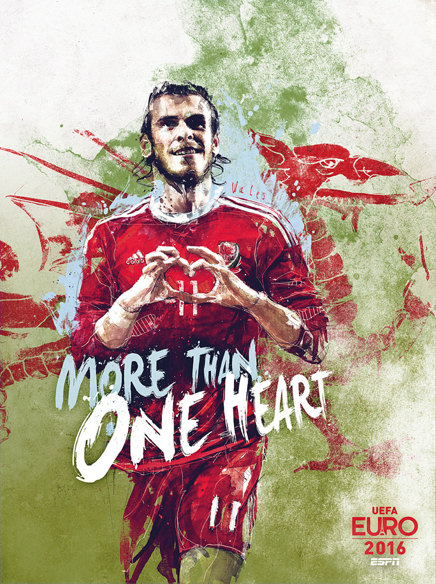 Gareth Bale leads Wales at Euro 2016