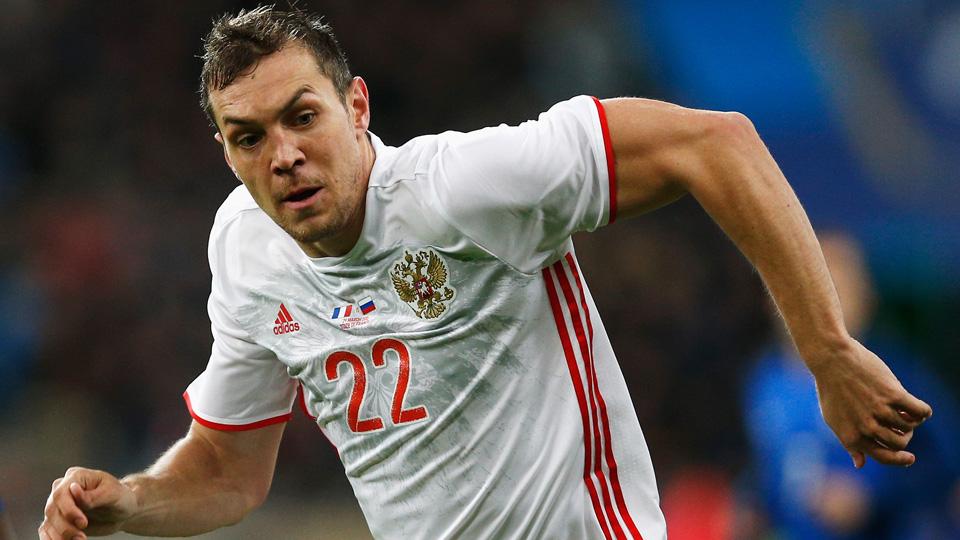 Russia forward Artem Dzuyba