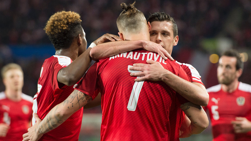 Austria will play in Euro 2016's Group F