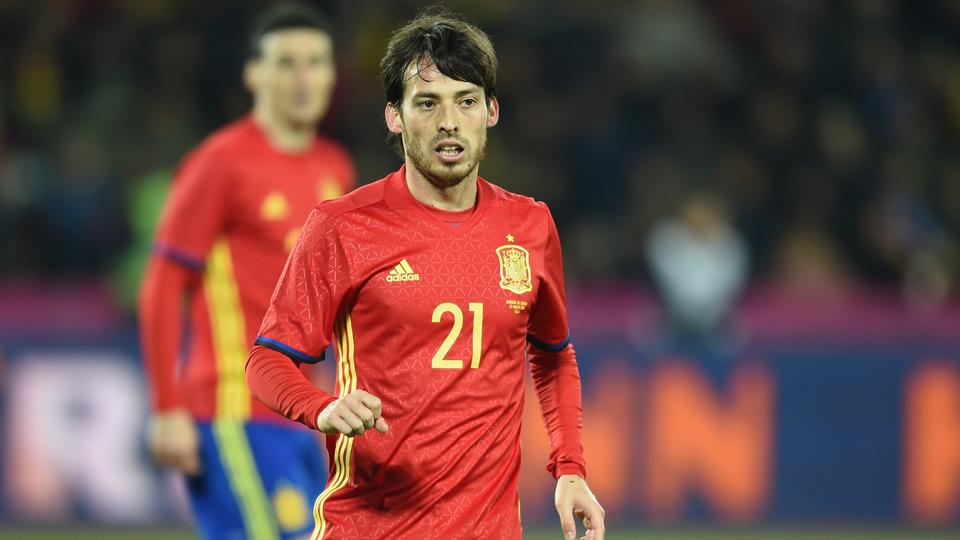 Spain's David Silva will be at Euro 2016