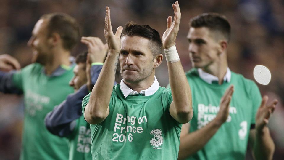 Robbie Keane has made Ireland's Euro 2016 roster
