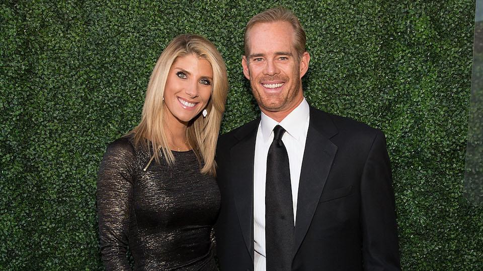 Michelle Beisner with husband Joe Buck