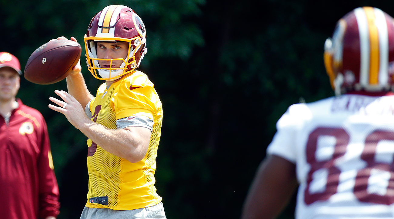 When Kirk Cousins drops back, he'll have plenty of options, including Pierre Garcon.