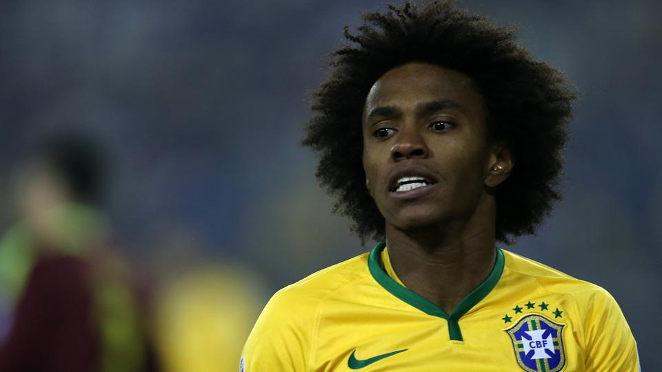 Willian leads Brazil at Copa America