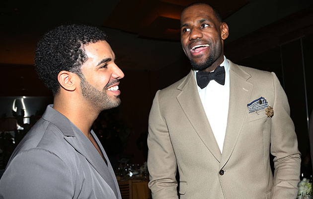 Drake and LeBron