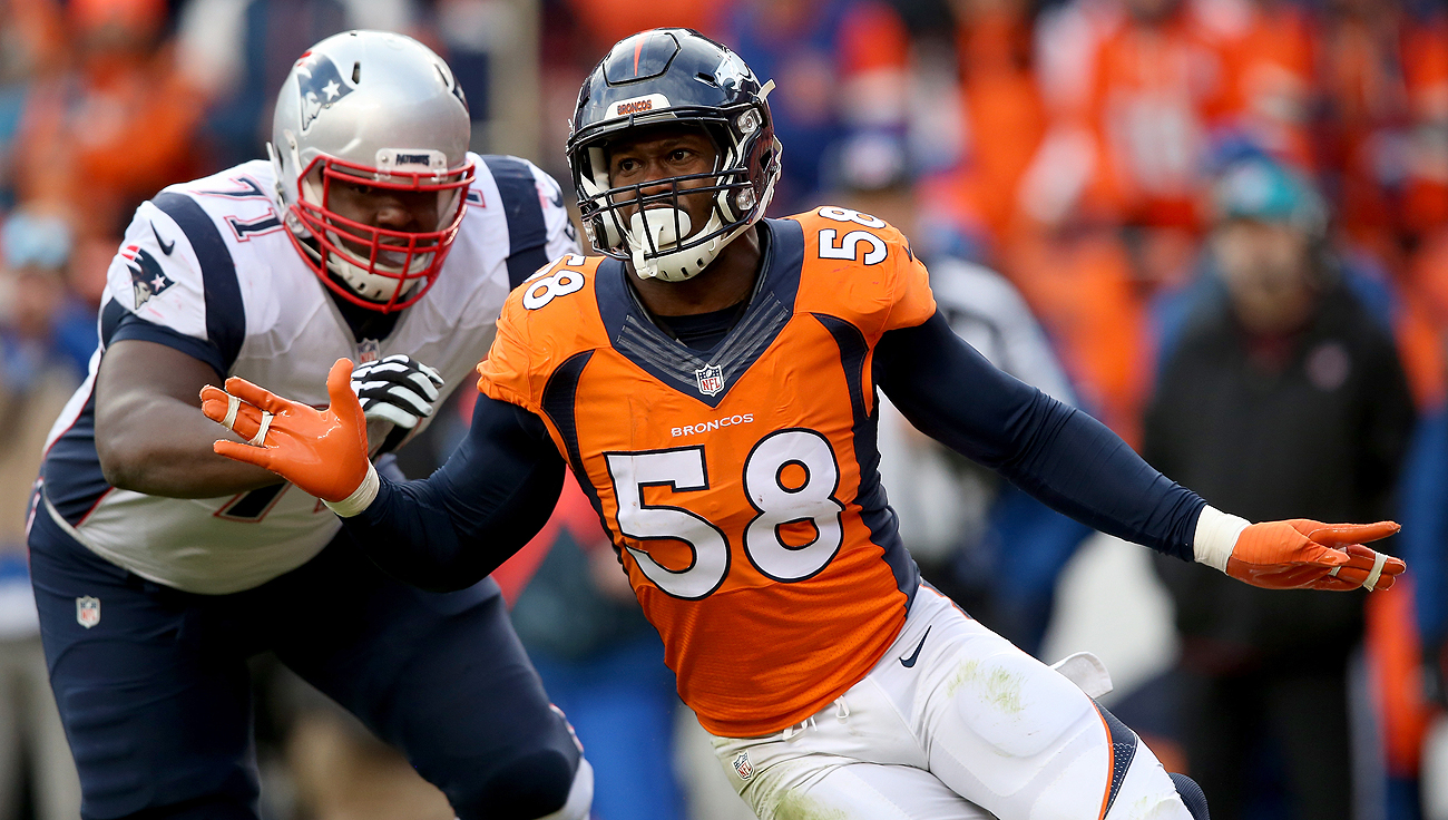 Contract talks have come to a standstill between Von Miller and the Broncos.