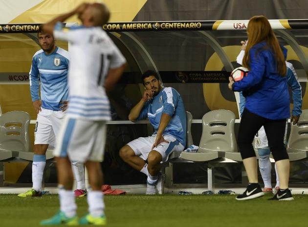Luis Suarez Copa America tantrum