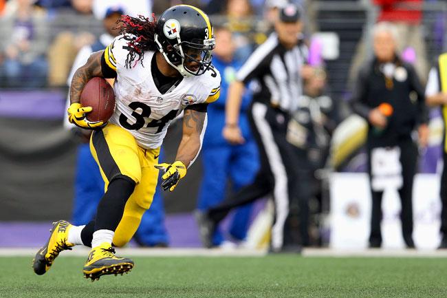 Steelers running back DeAngelo Williams.