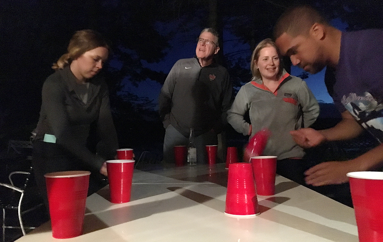 The MMQB annual retreat was very productive and also there was flip cup.
