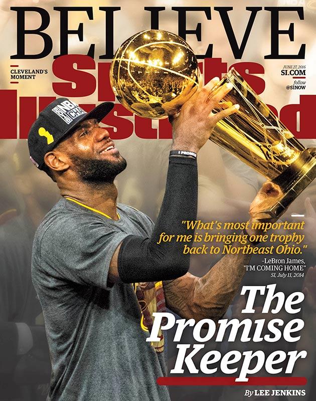 LeBron James wins NBA title