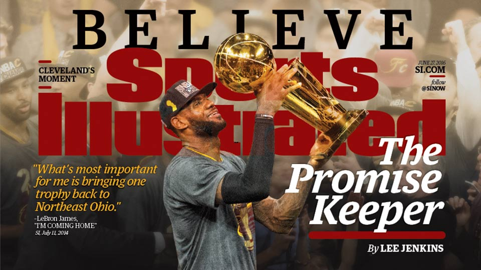 LeBron's dreams come true with NBA title for Cleveland | SI.com