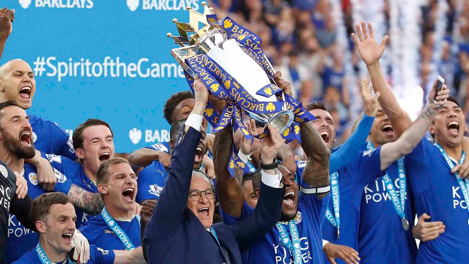 Leicester City won the 2015-16 Premier League title