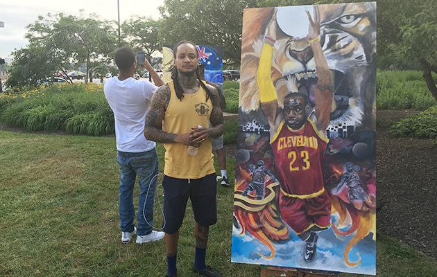 nba-finals-cavs-warriors-lebron-james-painting