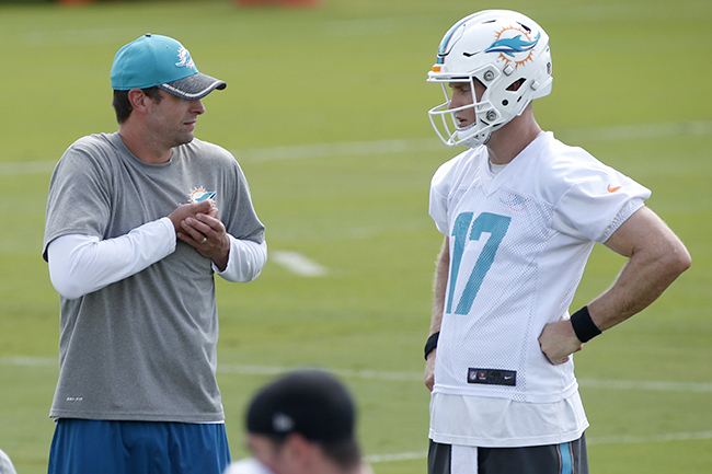 Tannehill has a chance to benefit from the Gase bump in 2016.