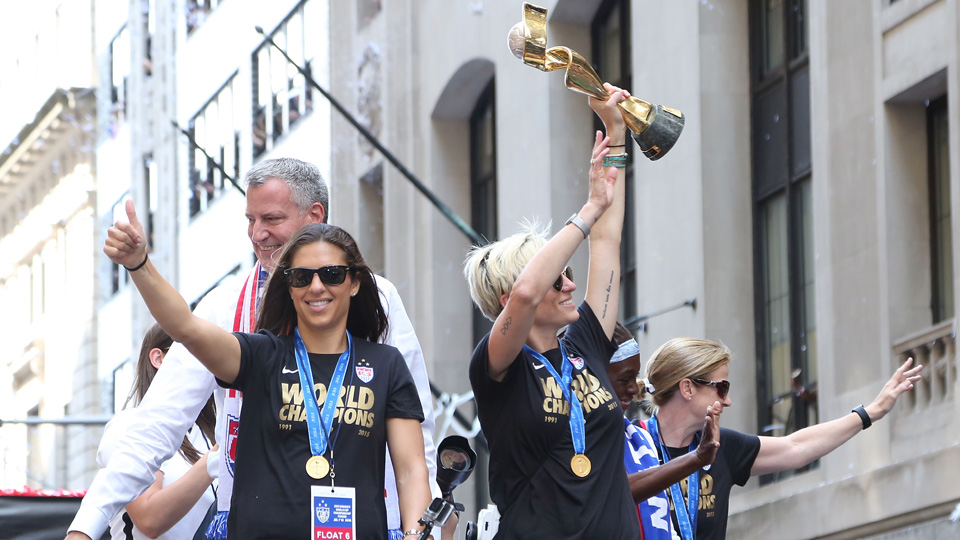 Carli Lloyd and Megan Rapinoe return from injury for the USWNT