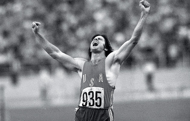 Bruce Jenner at the 1976 Olympics