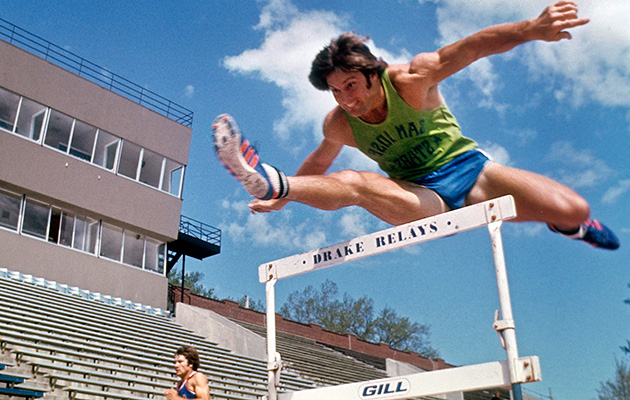 Bruce Jenner before the Montreal Olympics in 1976