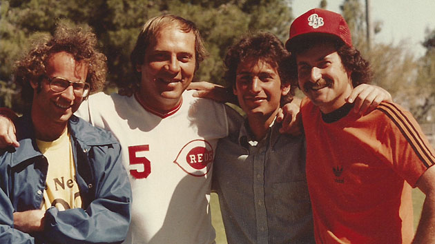 Johnny Bench, Cincinnati Reds, and Baseball Bunch producers