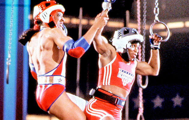 American Gladiators Cast Relives Games Fame Steroids Sicom