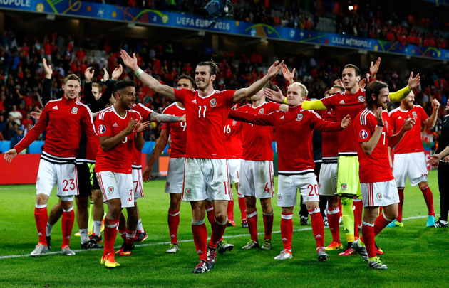 Gareth Bale and Wales are onto the Euro 2016 semifinals