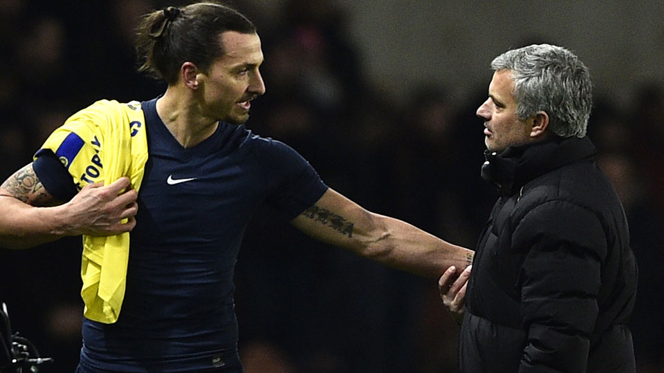 Jose Mourinho and Zlatan Ibrahimovic are reunited at Manchester United