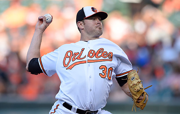 Chris Tillman, Baltimore Orioles