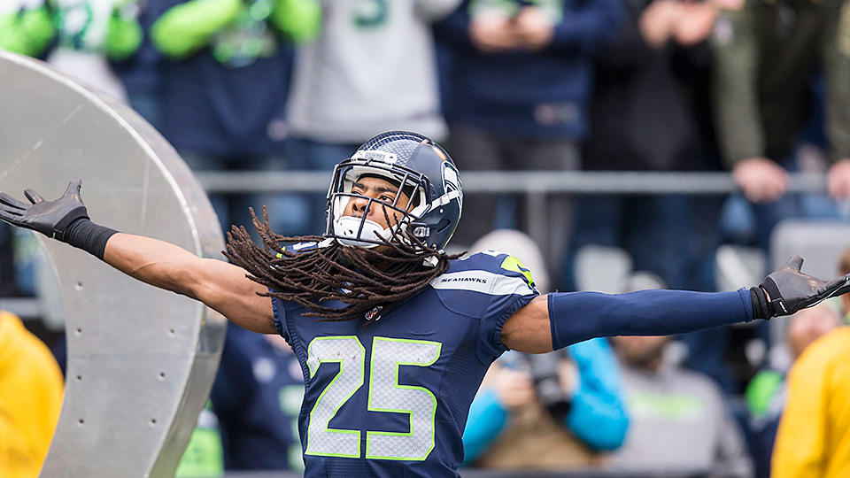 Richard Sherman is the No. 1 outside cornerback in the NFL