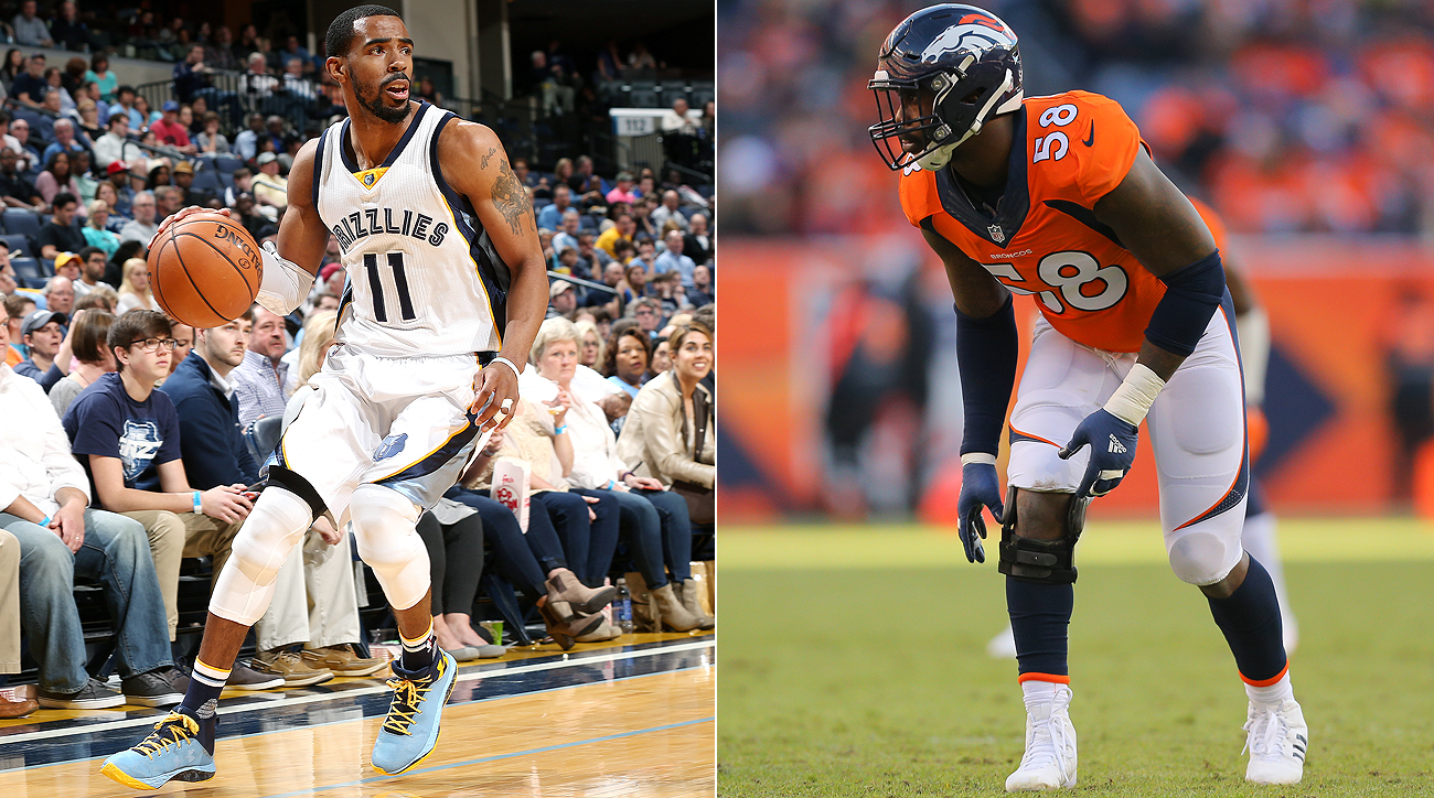 Mike Conley just inked a contract north of $150 million, while Von Miller struggles to seal a deal in a similar neighborhood.
