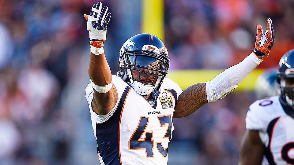 T.J. Ward, Broncos