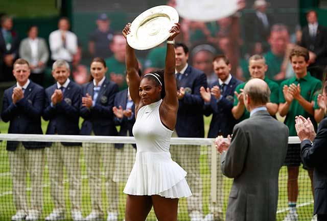 Serena Williams wins Wimbledon; Sofia Vergara photos | SI.com