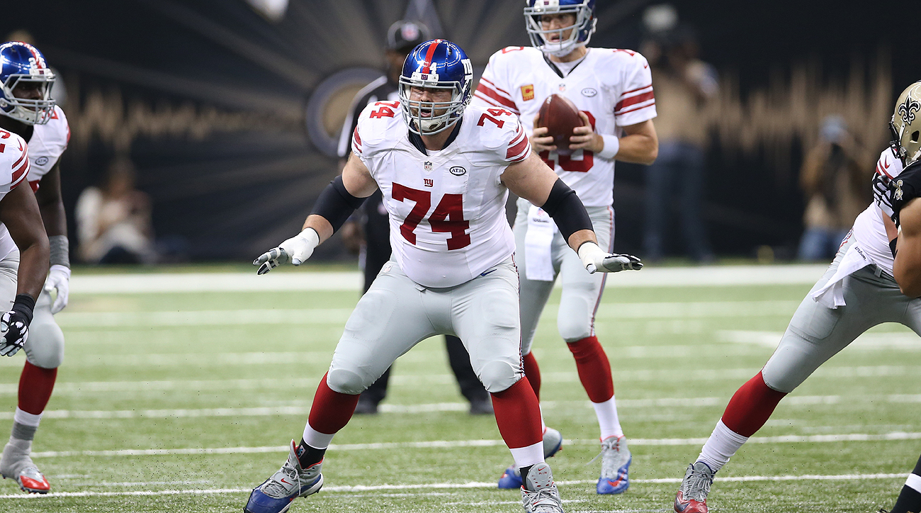 The Giants signed Schwartz to a four-year, $16.8 million deal prior to the 2014 season, but injuries limited him to just 13 games the next two years.