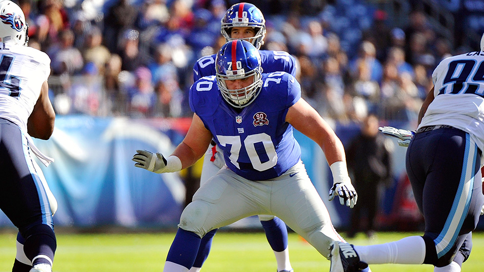 Weston Richburg, New York Giants