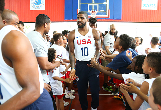 5932fc55bc2 Cavaliers star Kyrie Irving talks NBA Finals