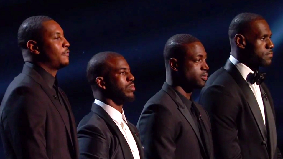 ESPYs: LeBron, Carmelo, Paul, Wade speak out (video) | SI.com