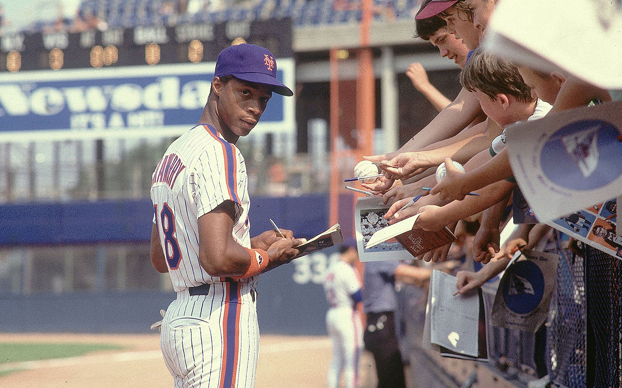 New York Mets Darryl Strawberry