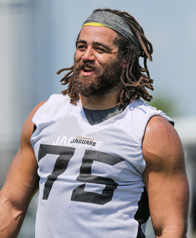 Jared Odrick is entering his seventh NFL season and second with the Jags.