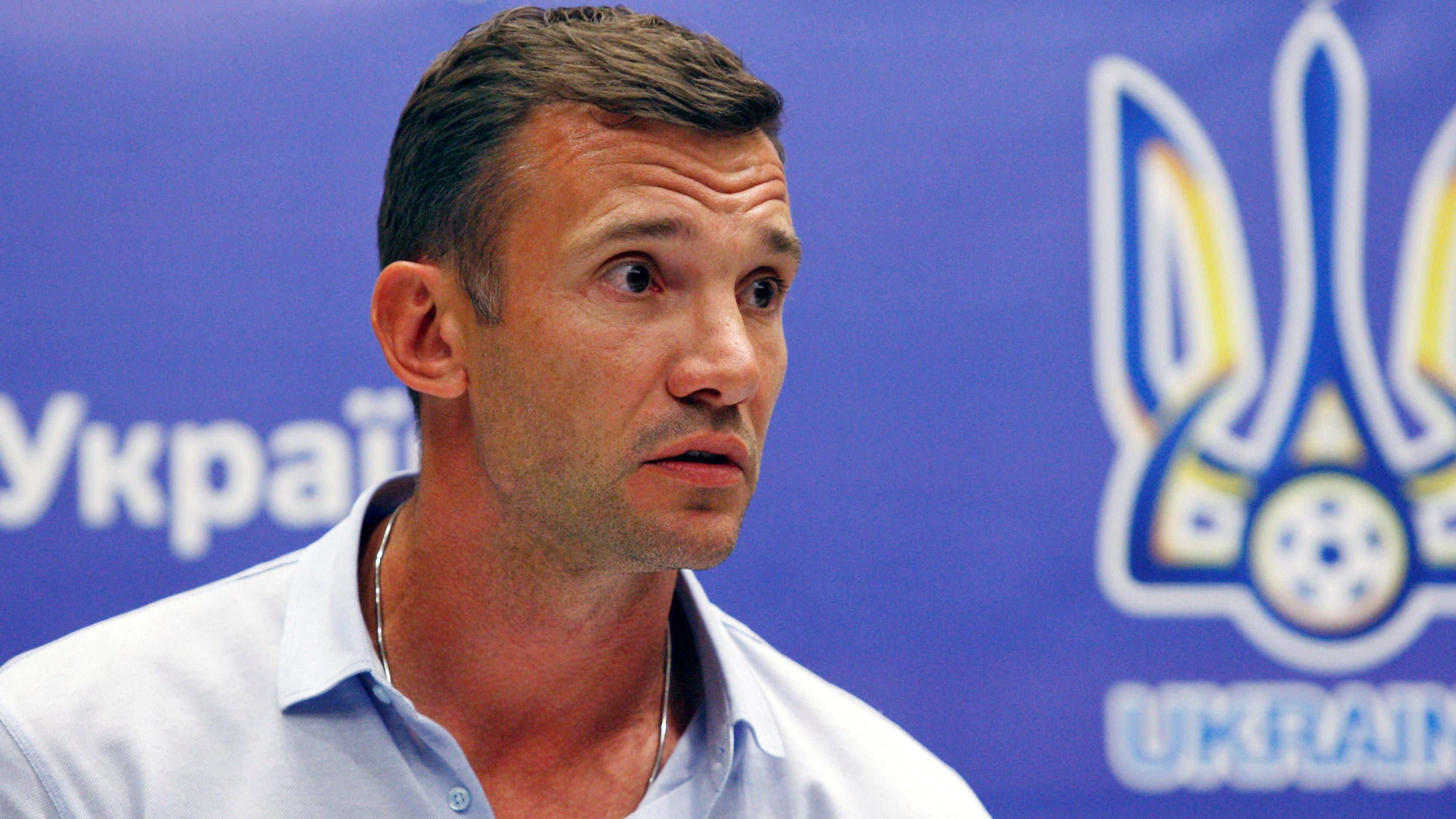 Andriy Shevchenko Ukraine names former star manager