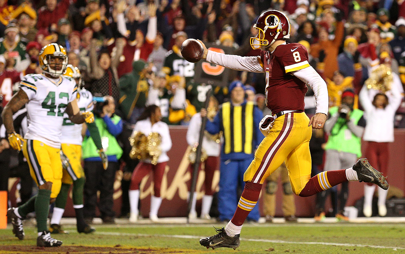 Washington is content to slow-play Kirk Cousins contractually, rather than make a long-term commitment now.