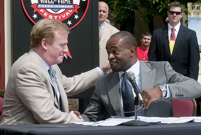 Since he and players union president DeMaurice Smith signed the 2011 CBA, Goodell's relationship with the players has been rocky.