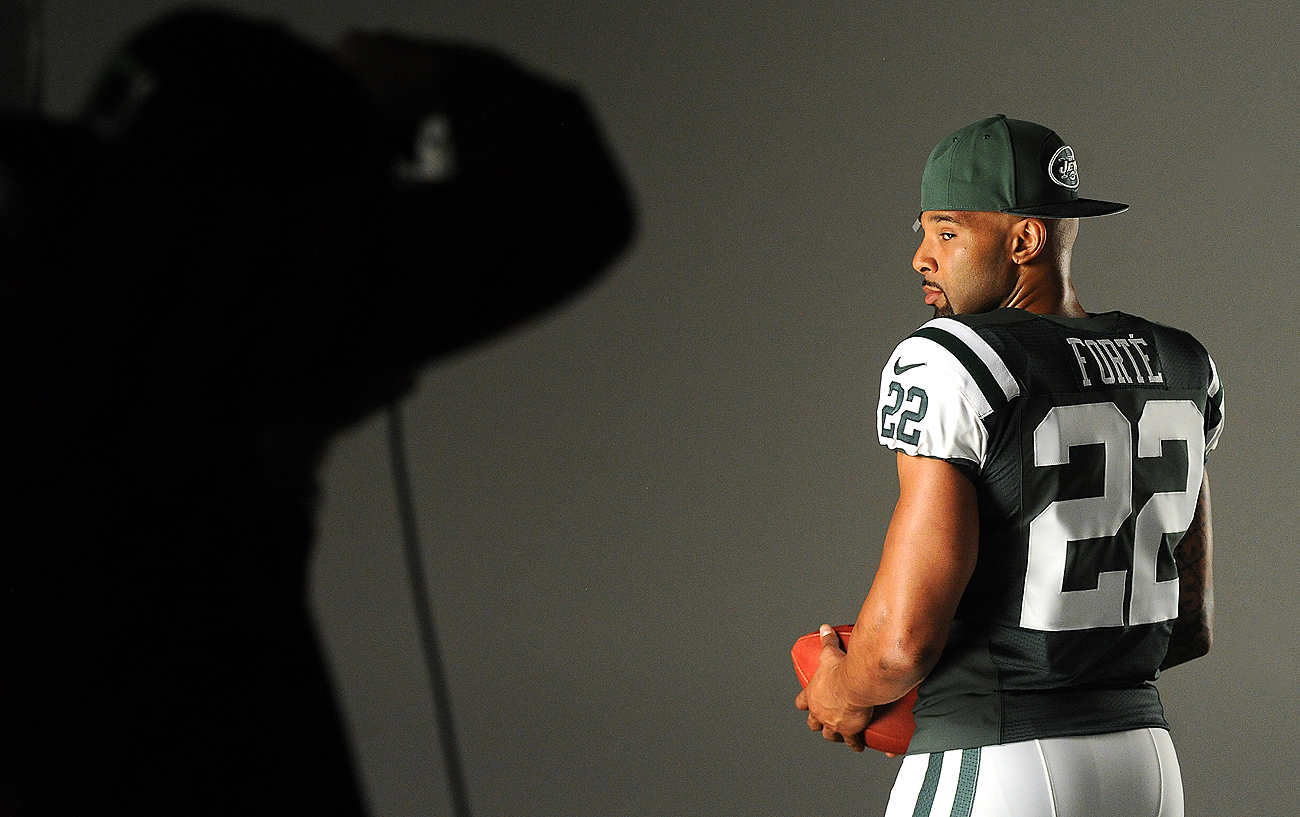 After eight seasons in Chicago, Matt Forte steps into the spotlight for the Jets this fall.