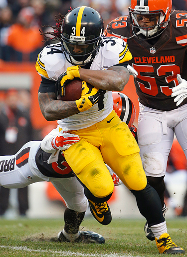 DeAngelo Williams started 10 games for Pittsburgh last season and averaged 4.5 yards per carry.