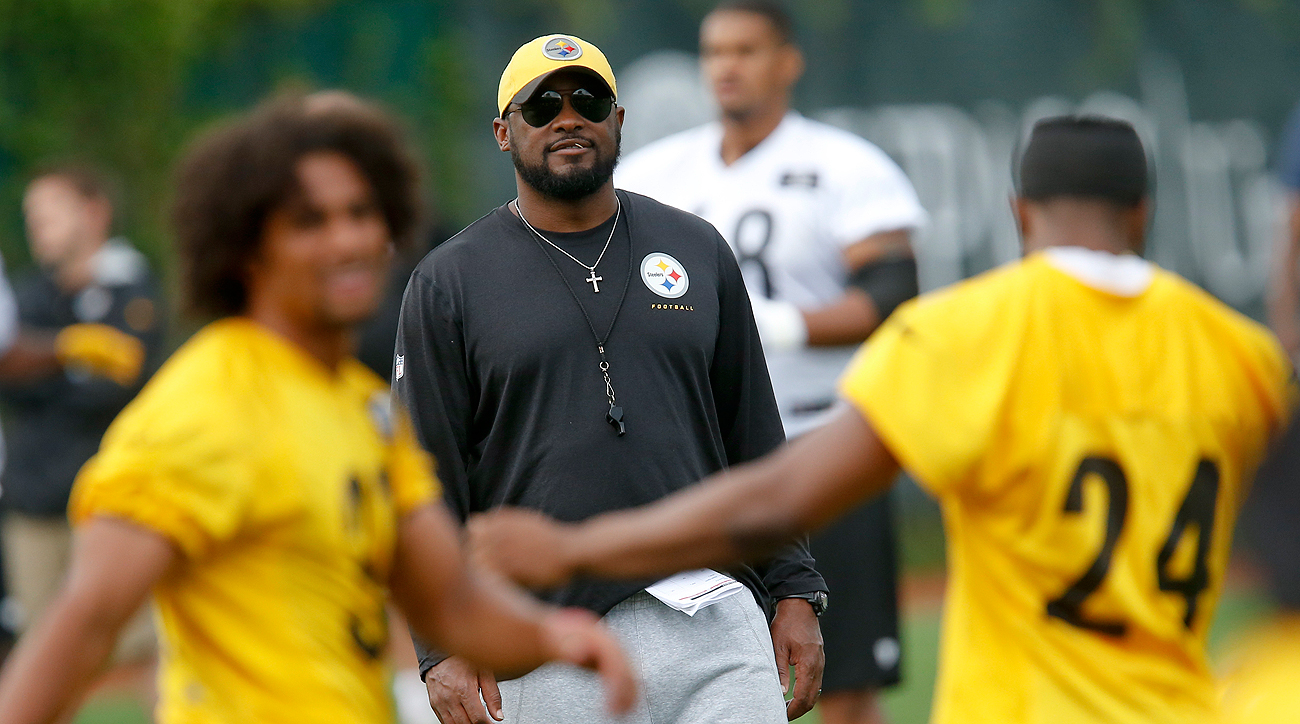 Mike Tomlin will open Steelers training camp on Wednesday, his 10th as head coach.