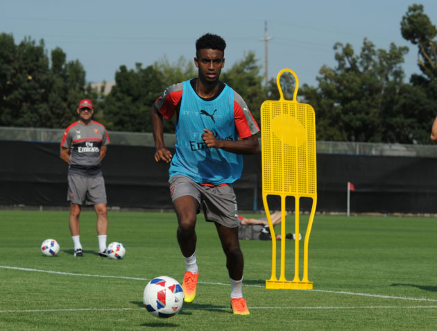 Gedion Zelalem will play for Arsenal against the MLS All-Stars