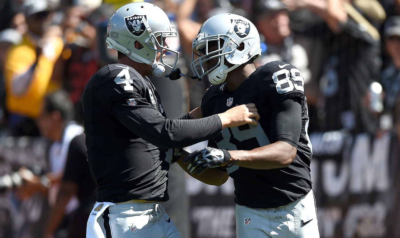 Derek Carr and Amari Cooper give the Raiders the best 25-and-under QB-WR pairing in the NFL.