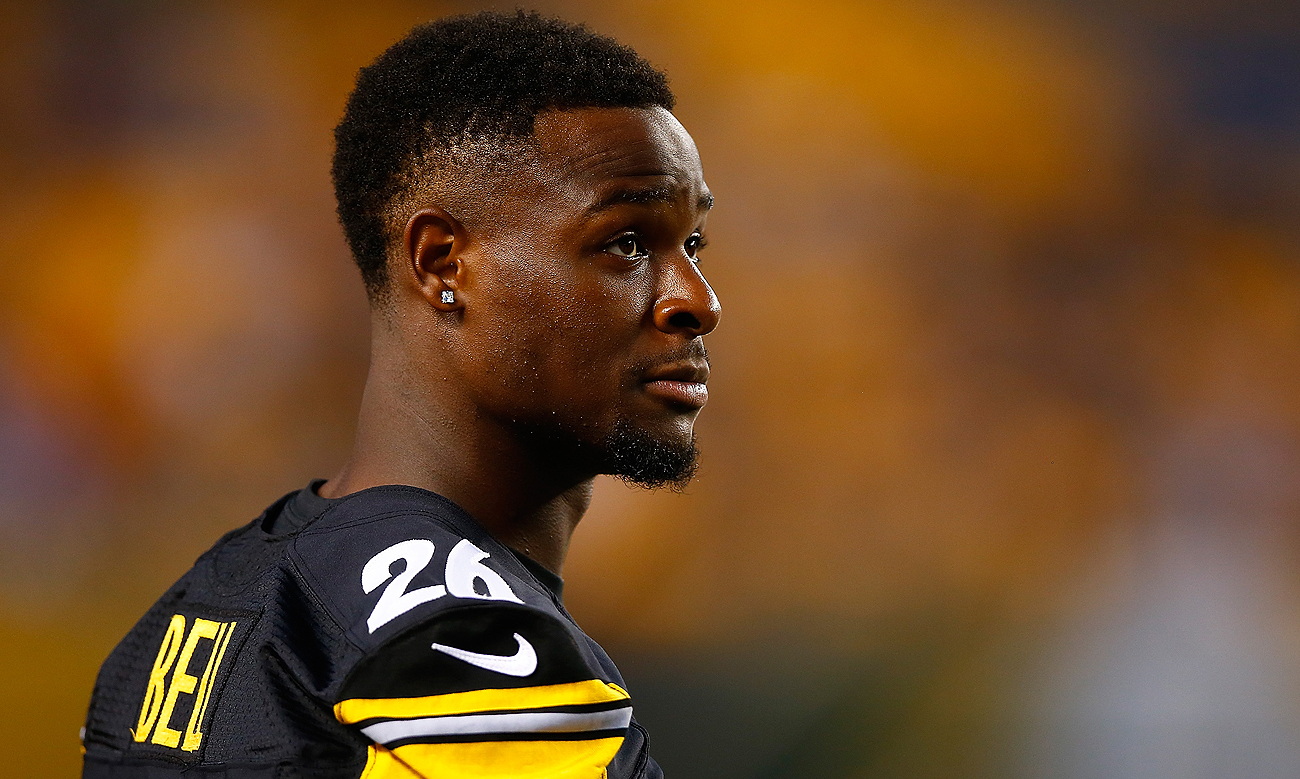 Le'Veon Bell's contract with the Steelers expires following the 2016 season.