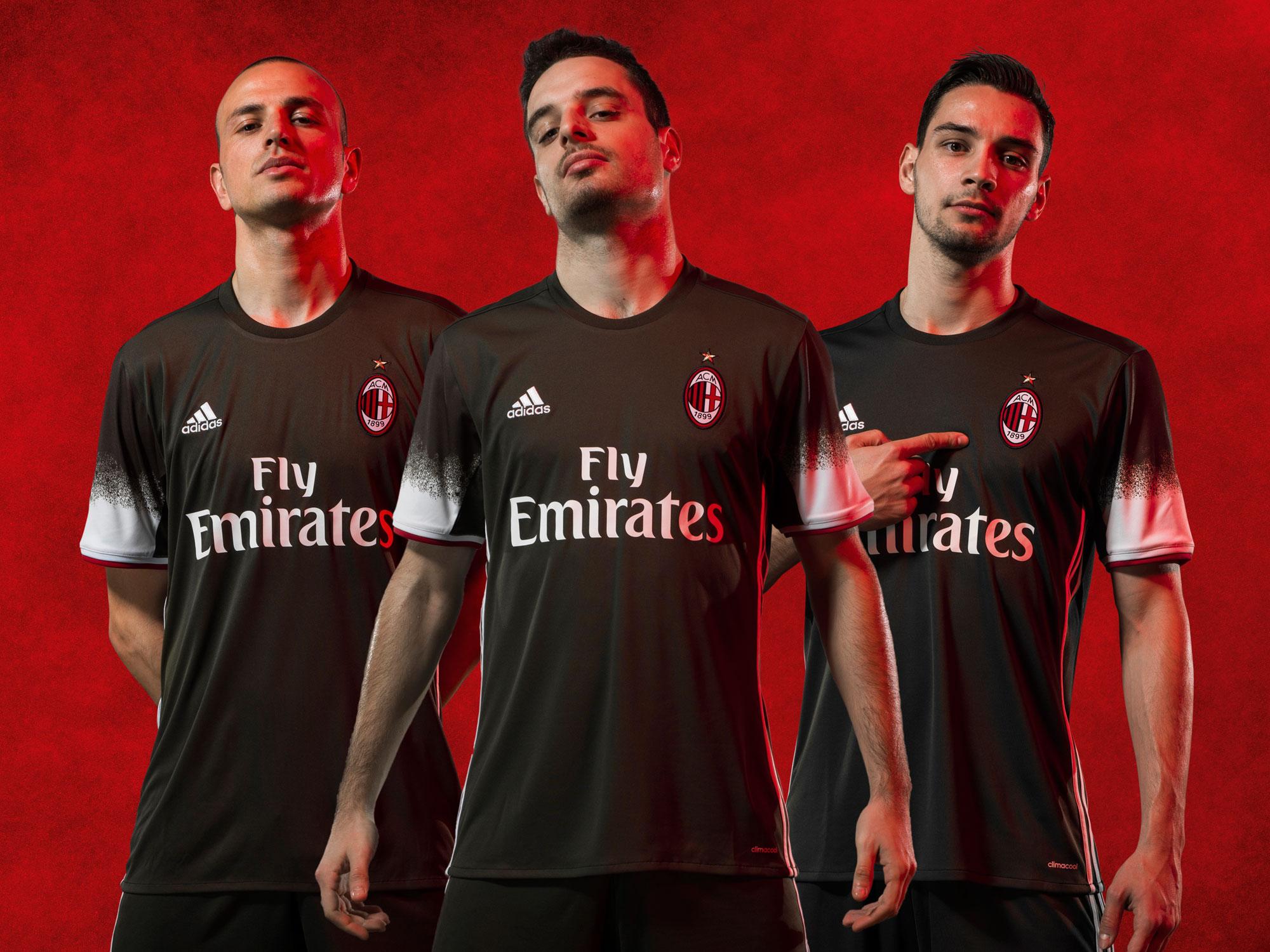 AC Milan's new third uniform
